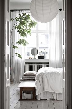 jensen-beds.com/ like this Scandinavian style bedroom.