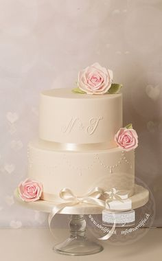 Cake Wedding Pearl Ribbons 57 Ideas For 2019 Easter Cake Pops, Birthday Cake Pops, Christmas Cake Pops, Christmas Sweets, Fondant Flower Cake, Fondant Cakes, Cake Mix Cupcakes, Cake Decorating Icing, Making Fondant