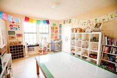 Gorgeous inspirational workspaces from Project Based Homeschooling