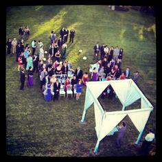 Foto aérea de boda en Jocotepec