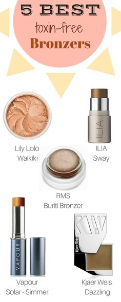 Get beautiful glowy bronzed makeup this spring and summer with our top 5 best bronzers!