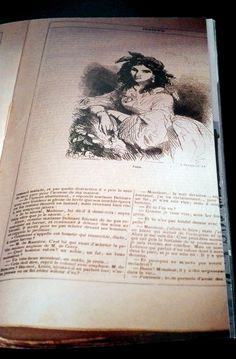 """1853-Indiana de George Sand Edition illustrée de J. Hetzel. Indiana, son 1er roman sera son cri de révolte. C'est un personnage de fiction qui endosse sa propre révolte contre """"les passions comprimées"""". C'est """"le miroir de son cri en faveur de la liberté"""". C'est aussi un roman social. Avec """"Indiana"""", Aurore devient George Sand."""