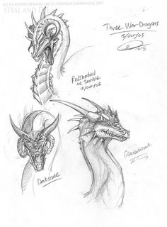 Dragon Head, Dragon Art, Fantasy Dragon, Fantasy Art, Fantasy Creatures, Mythical Creatures, Cartoon Sketches, Drawing Sketches, Animal Drawings