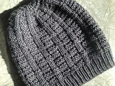 Ravelry: New City Hat pattern by Melissa LaBarre - free pattern - worsted weight, slouch style fit, good style for man's hat