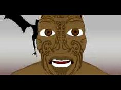Teaching Myths and Legends:▶ Hatupatu and Kurangaituku - Maori Legend Animation… Filipino Tribal Tattoos, Hawaiian Tribal Tattoos, Samoan Tribal, The Power Of Myth, Maori Legends, Maori Symbols, Legend Stories, Cross Tattoo For Men, Teaching Literature