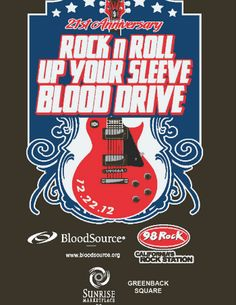 Events at Sunrise MarketPlace :: Rock N Roll Up Your Sleeve Blood Drive :: Dec 22, 2012