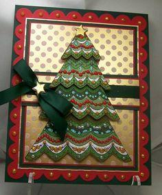 Handmade Christmas Greeting Cards Christmas cards, cards ideas,