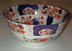 "Large (12"" diameter) 19th century Imari bowl"