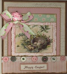 """created by Carlene Prichard: Chatterbox Creations-1.blogspot.com - 3-20-12 - """"Vintage 2012 Easter""""  See Blog for information and ingredients."""