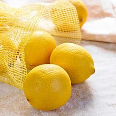 Lemons    Clean and exfoliate your face by washing it with lemon juice. You can also dab lemon juice on blackheads to draw them out during the day. Your skin should improve after several days of treatment.