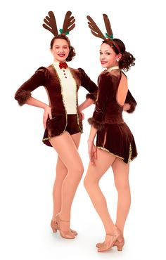 Your students can prance with style wearing this reindeer costume by Curtain Call. #FashionFriday
