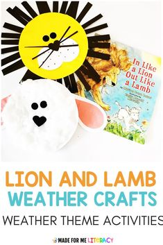 Need spring weather themed activities for your classroom? Check out this blog post with tons of hands-on and engaging literacy, math, science, art, and sensory ideas kids will love! These fun printable lesson plans are great for preschool, kindergarten, homeschool, or special education students. Toddlers will love the sensory bin and crafts! #classroomactivities #lessonplans