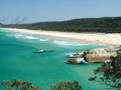 Gorgeous Cylinder Beach at Point Lookout, North Stradbroke Island, Queensland, Australia (Source