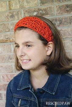 Fall Crochet Headband Pattern