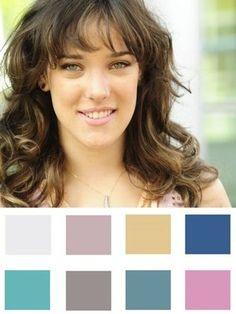 Branca de cabelo castanho e olhos claros como a Adriana Birolli - Dicas de Moda - iG
