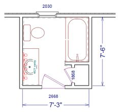 Bathroom Plans   Google Search · Small Bathroom Floor ...