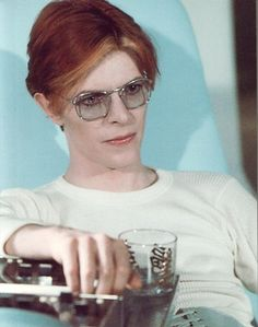 "David Bowie as Thomas Newton from ""The Man Who Fell to Earth"" (1976)"