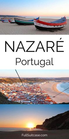 A short guide to visiting a fishing village Nazaré in #Portugal