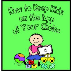 Heidisongs Resource: How to Keep Kids On the App of Your Choice