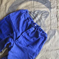 hbt patched work trousers / rospoindigo