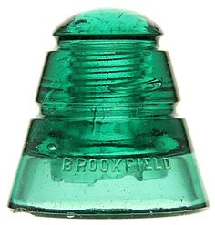 Antique Bottles, Antique Glass, Rare Antique, Glass Insulators, Green Aqua, Meatball, Glass Collection, Insulation, Vintage Antiques