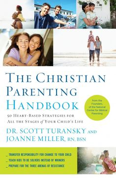 The Christian Parenting Handbook - 50 Heart-Based Strategies for parenting kids of all ages. A great resource for all parents, Christian or not! whatsupfagans.com