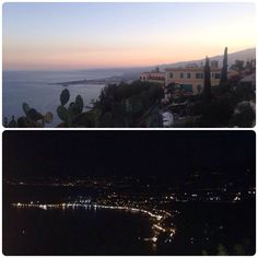 #Taormina: one of the most beautiful places, by day and by night!_my photo