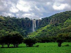 El Salto del Gavilán, belleza natural de San Miguel el Alto, en Jalisco.