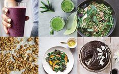 Recipes for a perfect day of clean eating, from breakfast to dessert- http://bit.ly/1J6dqQX