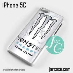 monster energy drink zero ultra Phone case for iPhone 5C and other iPhone devices