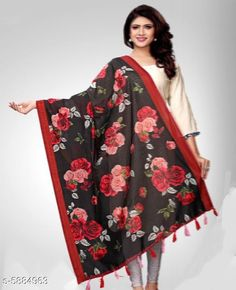 Checkout this latest Dupattas Product Name: *Stylish Women's Dupatta* Sizes:Free Size Country of Origin: India Easy Returns Available In Case Of Any Issue   Catalog Rating: ★3.9 (384)  Catalog Name: Classy Stylish Women Dupattas CatalogID_888617 C74-SC1006 Code: 223-5884963-957