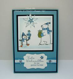 Polar Party with Stampin Up by MargitsSchatztruhe - Cards and Paper Crafts at Splitcoaststampers