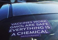 Everything is a chemical.