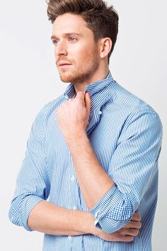 015714ebe9aa 24 best Men's Work Shirts images in 2019 | Business shirts, Uniform ...