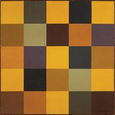 JUDITH LAUAND,  Sem titulo - Óleo sobre tela - 60x60 cm - ACID 1976