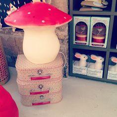 Instagram Bonton - Lampe champignon