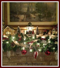 4 the love of wood: CHRISTMAS VILLAGES and DISPLAYS