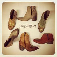 LENA MILOS #springsummer #2014 #collection #vintage #boots #gold #luxury #green #colors #love #handmade #fashion #footwear #handmade #madeinitaly #boutique #women #girls
