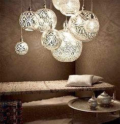 Egyptian Light Fixtures! Love!!!