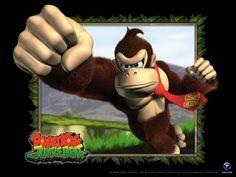 Donkey Kong: Banana Barrage  #flashgames