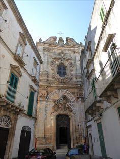 """""""Chiesa di San Domenico"""", Martina Franca Puglia Italia (Luglio)"""