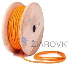Kábel dvojžilový v podobe textilnej šnúry neponúka len možnosť prínosu elektriny do Vášho osvetlovacieho zariadenia, ale dodáva aj historický funky vzhľad (2)