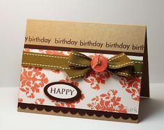 {a little of this & that}: damask birthday and WW...