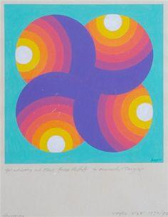Herbert Bayer, Foursome, 1970