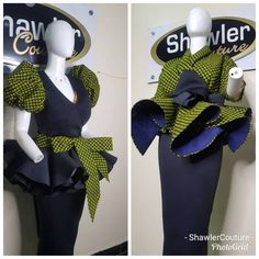What's your flavour: Ankara or Plain? African Dresses For Kids, African Lace Dresses, Latest African Fashion Dresses, African Print Fashion, Short Ankara Dresses, Ankara Skirt And Blouse, Ankara Gown Styles, Ankara Tops, African Attire