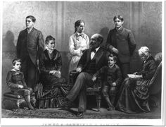James A. Garfield Family:
