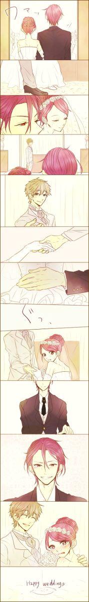 "Gou x Makoto ""Wedding day"" - Free! Iwatobi Swim Club by 黒豚 on pixiv"