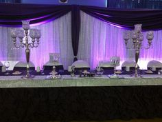 Head table decor!