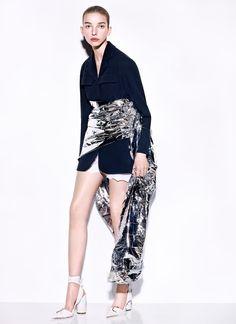 Vogue China March 2016 - Jamilla Hoogenboom - Richard Burbridge