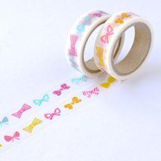Bow Print Washi Tape